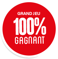 Grand jeu 100% gagnant
